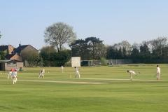 Cricket: Alderley fall four short at Oxton