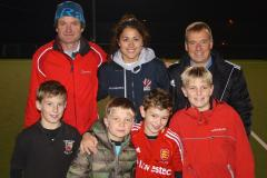 Olympian coaches youngsters at The Edge