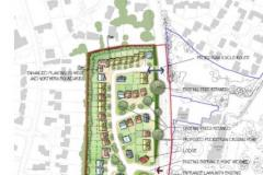 Royal London's outline plans for 60 homes on former Green Belt