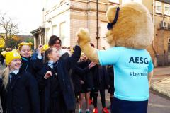 AESG Juniors 'Ramble' for Children in Need
