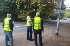 Volunteers continue to raise awareness of speeding on Congleton Road