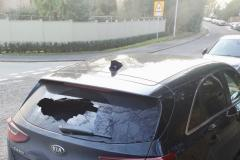 Vandals strike again - three car windows smashed on Ryleys Lane