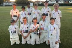 Cricket: U13s crowned champions of Cheshire