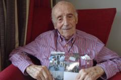 101-year-old care home resident pays tribute to his father on the trip of a lifetime