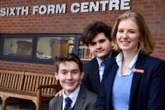 Trio of young scientists receive Cambridge offers