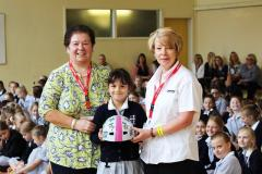 Alderley Edge pupil thrilled with cycle prize
