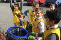 Ryleys pupils join in Great British Spring Clean