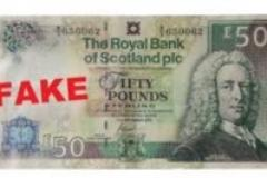 Fake Scottish bank notes circulating