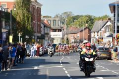 Britain's biggest professional cycling event races through Wilmslow