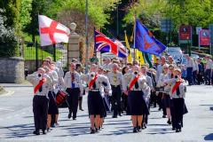 300 Scouts parade to celebrate St George's Day