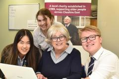 King's sixth formers join Age UK's army of volunteers
