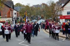 Plans confirmed for 2018 Alderley Edge Remembrance Day Parade and Service
