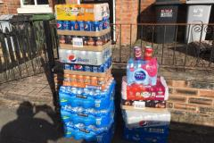 Over 7000 drinks collected to help keep hospital staff hydrated
