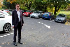 Car park reopens with properly marked bays