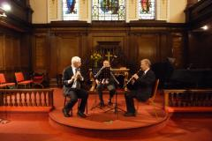 Woodwind trio to perform first lunchtime concert of 2018