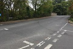 Raised kerbs to reduce risk of vehicles ending up on railway line