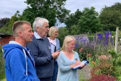 In Bloom judges tour Alderley Edge
