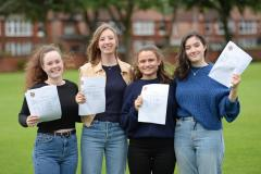 Withington Girls' School students celebrate outstanding A-Level results