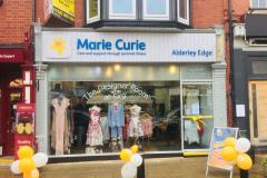 Charity shop re-launches as 'designer boutique'