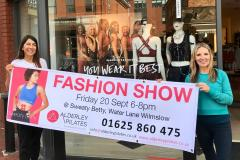 Alderley Pilates and Sweat Betty invite you to a fashion show featuring the Autumn collection