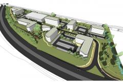 Plans submitted for new business park on former Green Belt