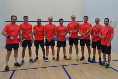 Squash team secures promotion