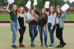 Withington Girls' students celebrate A-Level success