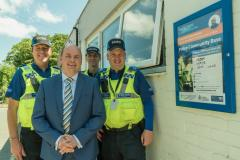 Increase in police precept to fund 50 additional police officers and PCSOs