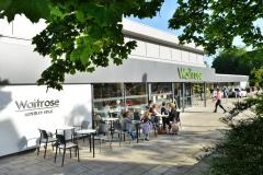 Supermarket's plans for second external seating area approved
