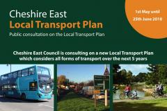 Have your say on Council's new local transport plan