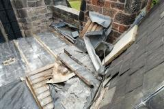 Lead stolen from church roof