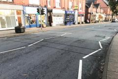Speed assessment under way in village centre