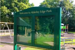 Improvements to village park underway