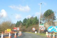 Section of A555 to close for 17 weeks