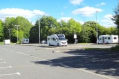 Traveller encampment allowed to remain due to coronavirus