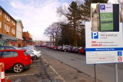 Free parking to encourage Christmas shopping in Wilmslow