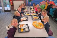 Primary school children benefit from improved facilities
