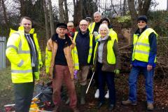 Volunteers turn out to tackle trash