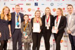 Alderley Girls win 'Cheeky Potato' award