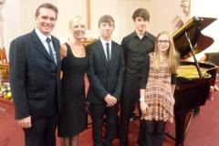 Talented siblings to perform piano recital