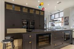 Introducing the kitchen that's dark, handsome and very 'intelligent'. What's not to love?