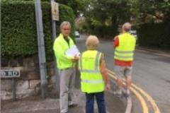 Speedwatch volunteers target Trafford Road and Heyes Lane