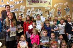 Young readers rewarded for completing the challenge