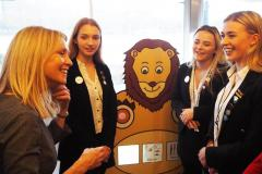 Engineering girls impress at Parliament