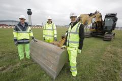 Work commences on new airfield layout at Manchester Airport