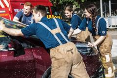 Firefighters charity carwash re-scheduled