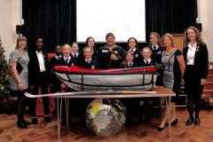 Alderley girls welcome polar explorer