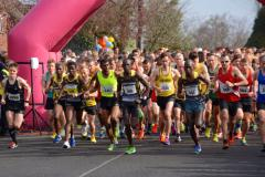Results of the 2016 Waters® Wilmslow Half Marathon