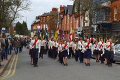 Scouts parade to mark St George's Day