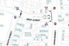Revised proposal for West Street one-way system